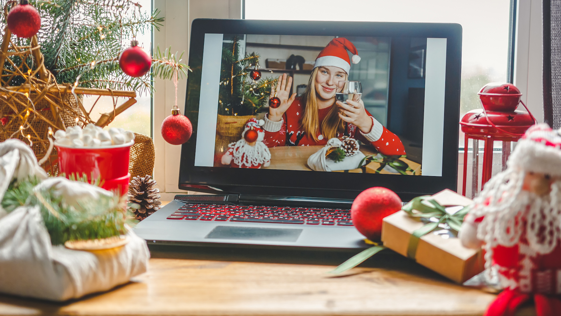 Holiday virtual gathering